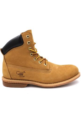 midzone yellow SCORPION Genuine Leather Boots 3A936SHE0E10B8GS_1