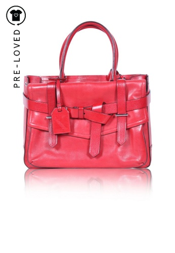 Reed Krakoff red Pre-Loved reed krakoff Red Boxer Tote 66742ACB519048GS_1