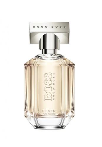 Hugo Boss Fragrances HUGO BOSS Boss The Scent Pure Accord For Her Eau de Toilette 50ml 708DEBE525304EGS_1