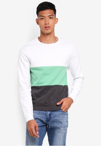 lambrook women Shop jack wills lambrook colour block crew neck sweat in grey marl at asos discover fashion online.
