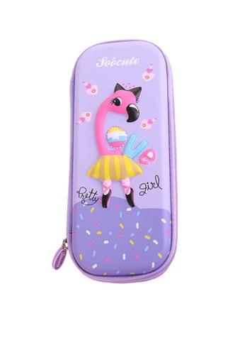 Twenty Eight Shoes pink VANSA 3D Cartoon Pencil Case  VAK-A99887 7950AKC35F082CGS_1