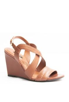 Arezzo Alezandria Wedge Sandals