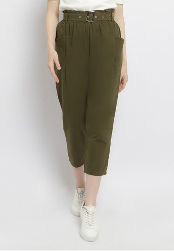 Just Out green Kemala Side Pocket Pants 0D343AA5861AD4GS_1