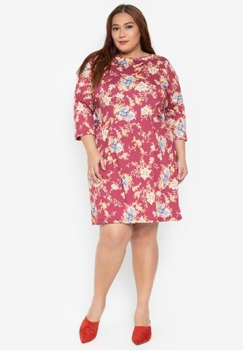 49b4656e752 Shop Maldita X Plus Size Floral Dress Online on ZALORA Philippines