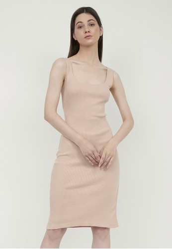 ALCHEMYbySP beige SALSABILLA DRESS 24643AA547A991GS_1