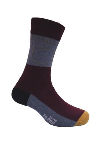 Mundo red Mundo Jeans Casual Men Sock - JN2P006 03352AAE76587DGS_1