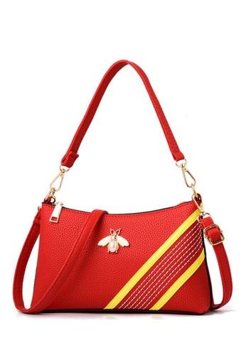 TCWK red TCWK Women Fashion Handbag - Red 5BB3DACE562B84GS_1