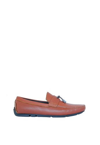 BONIA brown Bonia Gents Basic Loafers Brown 2719DSHF4AD88BGS_1