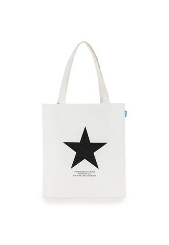 Peeps beige Star Eco Bag 95089ACFFF2092GS_1