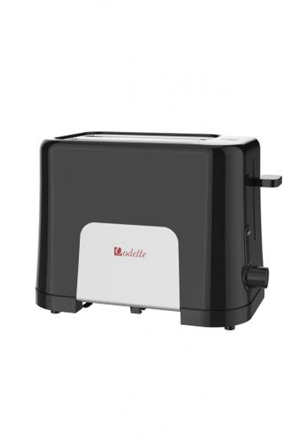 Odette black Pastel Color 2-Slice Bread Toaster (Black) 8B136HL4E82E43GS_1
