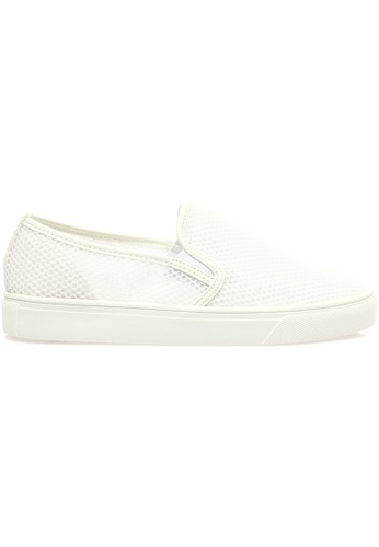 paperplanes white SNRD-141 Mesh Super Light Casual Slip-Ons Shoes US Women Size PA355SH95QCESG_1