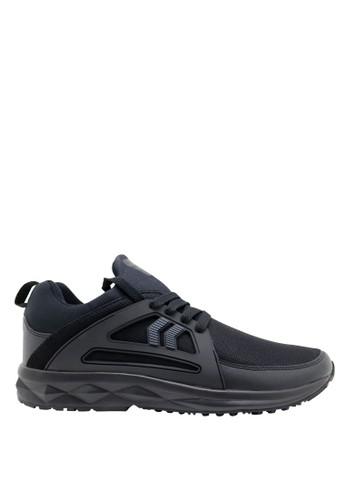 Precise black Precise Tron Sepatu Olahraga - Hitam 9A881SHD851215GS_1
