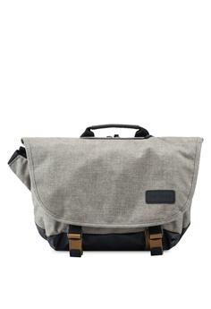 a4b7e35fe0c3 CRUMPLER grey Chronicler Messenger Bag FB659ACD394AB7GS 1