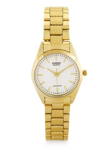 Casio gold Casio Jam Tangan Wanita - Gold White - Stainless Steel - LTP-1274G-7ADF 3A461ACB5DE8EEGS_1