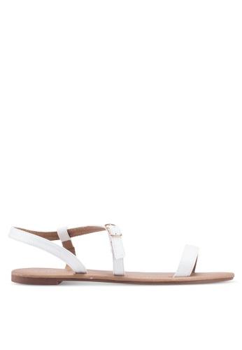 Rubi white Everyday Bella Wrap Sandal 0C34ASHF9653E7GS_1