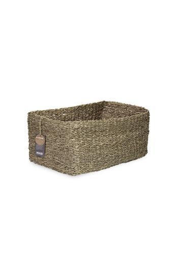 HOUZE ecoHOUZE Seagrass Storage Basket (Large) 5A6FEHL318554BGS_1