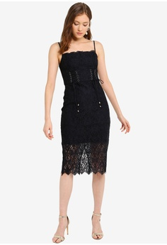 1af2f0191e Forever New Emma Corset Front Lace Bodycon Dress S$ 163.00. Available in  several sizes