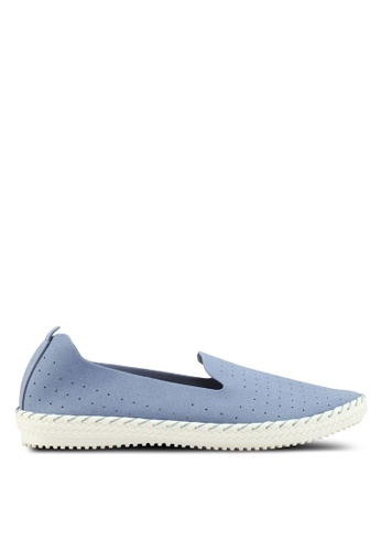 Bata 藍色 懶人樂福鞋 9FFB6SH1AECF14GS_1