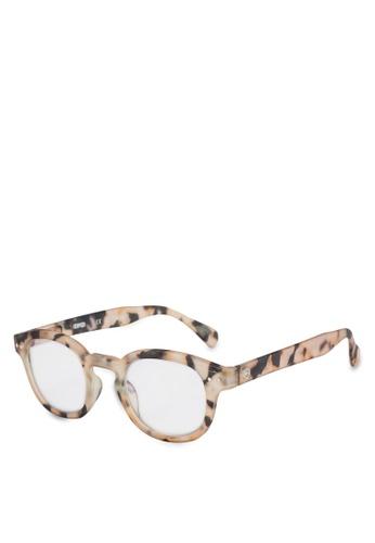 3f965a09ef8781 Izipizi green SCREEN  C Light Tortoise +0.00 Screen Glasses  C9BECGL3312DF0GS 1