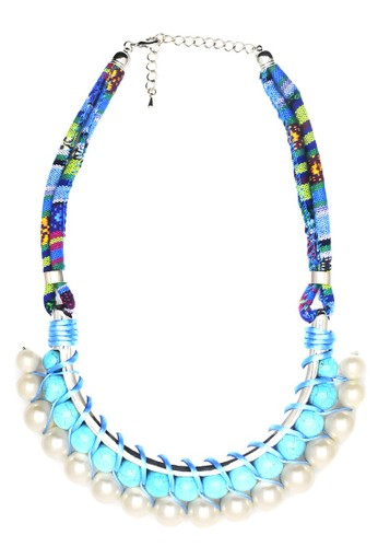 Istana Accessories Kalung Fanya Fashion Necklace - Blue