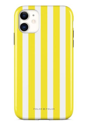 Polar Polar yellow Yellow Stripe Dual-Layer Tough Case Glossy For iPhone 11 37332AC0A30210GS_1