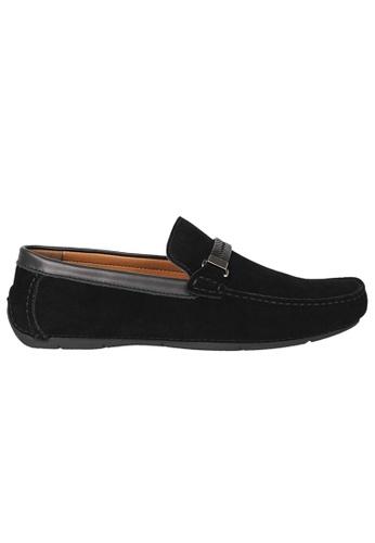 Tomaz black Tomaz C337 Braided Buckled Loafers (Black) 2944CSHC831B41GS_1