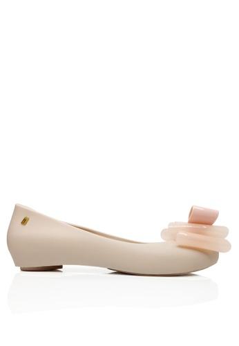 Twenty Eight Shoes pink Jelly Bow Waterproof Hidden Heel Rain Shoes VR01 TW446SH2UQRCHK_1