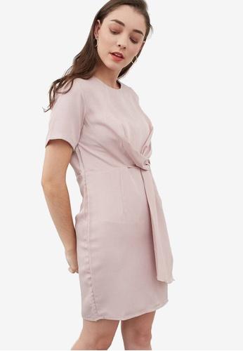 a8f5d37425f3 Shop Berrybenka Houstyn Twist Dress Online on ZALORA Philippines