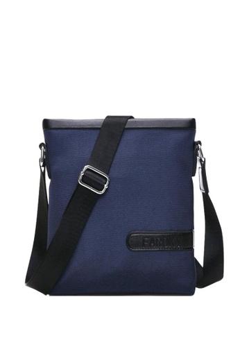 Stylebox blue Faroky WLD-0298 Polyester Messenger/Sling Bag 1FC09ACD169E26GS_1