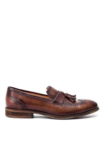 Twenty Eight Shoes Cristoforo復古真皮樂福鞋BL05-7 0E5E3SHD442E3CGS_1