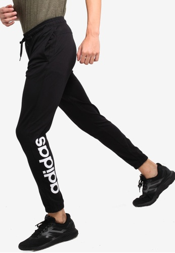 ea7be3849 adidas black adidas essentials linear tapered pants AE350AA16EE2E9GS_1