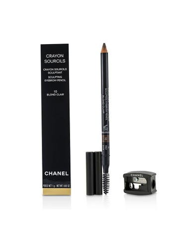 Chanel CHANEL - Crayon Sourcils Sculpting Eyebrow Pencil - # 10 Blond Clair 1g/0.03oz 8AE4ABE28A1A3AGS_1