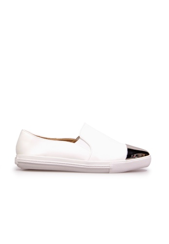 Sunnydaysweety white Korea Hot Metal Toe Punt Casual Loafer C11300 SU443SH2VG01HK_1