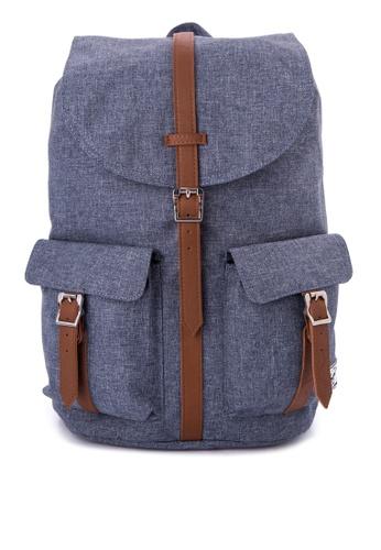 Herschel blue Dawson Backpack HE958AC0JPWNPH_1