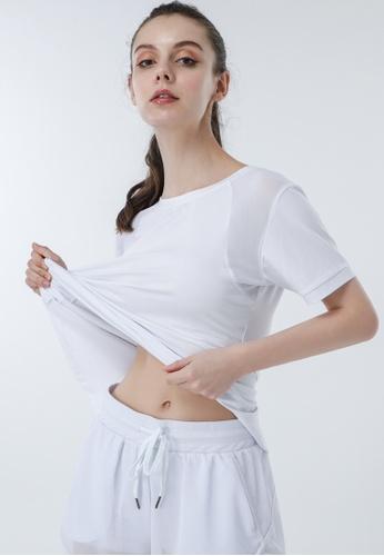 HAPPY FRIDAYS Women's Yoga Short Sleeve Tees DSG518 179E4AA17CED37GS_1