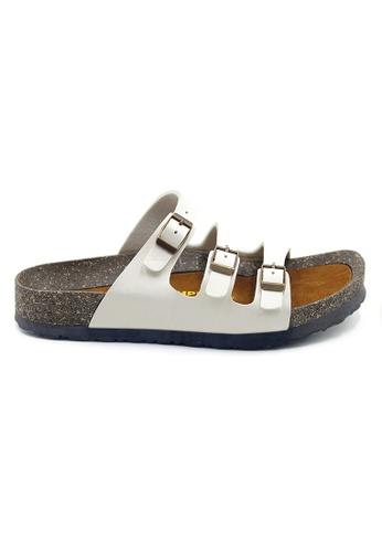 SoleSimple 白色 Ely - 白色 百搭/搭帶 涼鞋 D4077SHDDFC88CGS_1