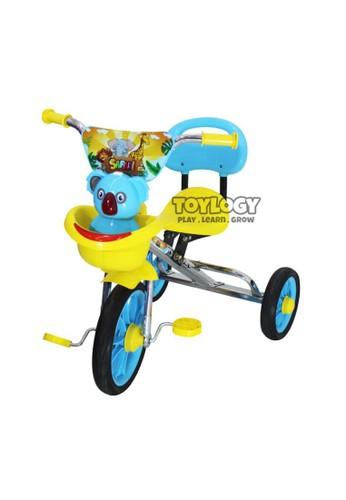 Toylogy multi Mainan Anak Sepeda Roda Tiga 3 Safari Sandaran Tricycle BMX PMB 719 TOSCA 67391TH8EE93D4GS_1
