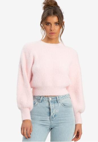 Sável pink Elenia Cropped Jumper A985EAAB23A7ABGS_1