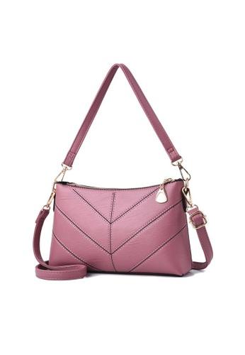 759a32c39b4 TCWK Women Fashion Handbag - Pink