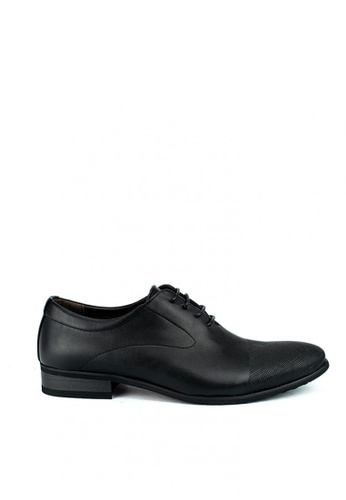 Cardam's Lifestyle black Ozzy Formal Shoes 2CA0ASHB3505CBGS_1