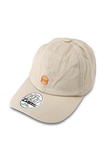 RAGEBLUE brown Woven Cap 3BF10ACAEB2C93GS_1