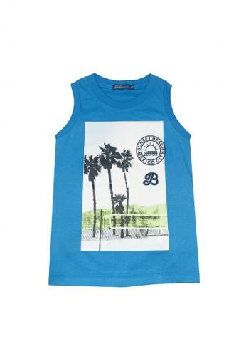 BOSSINI KIDS blue Muscle Shirt 29D30KA3027C1DGS_1