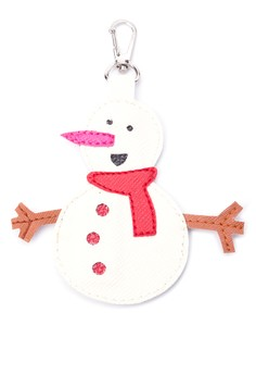 Snowman Keychain/Bagcharm