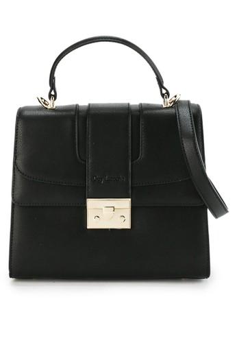 Guy Laroche black Tas Wanita Handbag Casual Kerja Selempang Branded impor Kulit Leather 6F83CAC005CF95GS_1