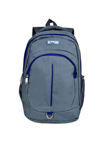 TRANSGEAR grey and blue 423 Backpack 5B412AC3C9CC6CGS_1
