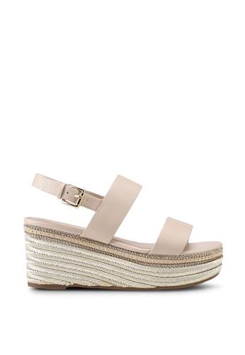 c8dc43e1fa7 Ladolian Ankle Strap Wedge Sandals