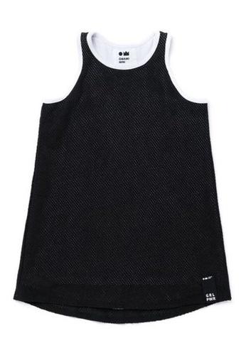 Ribbons+Wheels black OMAMIMINI Girls Dress - I GOT THIS A49DFKAF95A900GS_1