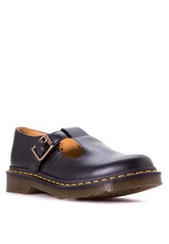 Dr Martens black Women's Polley T Bar DR086SH69LCWPH_1