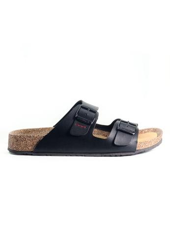 G-wingx black G-Wingx Men Sandal 9EC0DSH52839BFGS_1