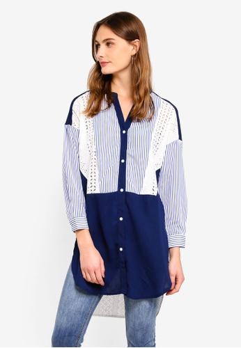 Haute Kelly blue Hae-Won Shirt 876A2AAD1D60A3GS_1
